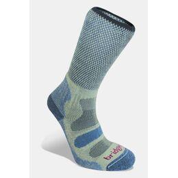 Lightweight Cotton Cool Comfort Sok Dames Middenblauw