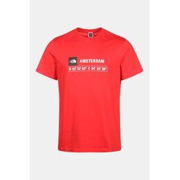GPS Tee Amsterdam Shirt Rood/Donkerrood