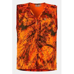Värmland Bodywarmer Oranje/Ass. Camouflage