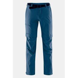 Tajo Regular Zip Off Broek Middenblauw