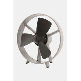 San Juan Camping Fan Ventilator Zilver/Zwart