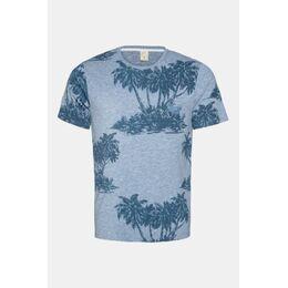 Manton T-Shirt Lichtblauw/Middenblauw
