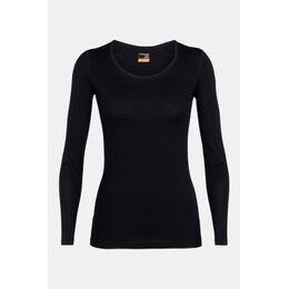 200 Oasis LS Scoop Thermoshirt Dames Zwart