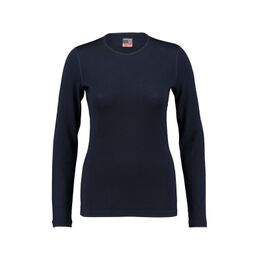 260 Tech LS Crewe Thermoshirt Dames Marineblauw
