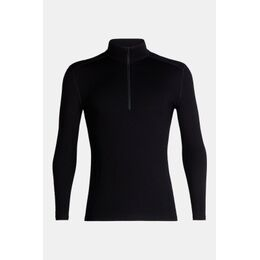 260 Tech Half Zip Thermoshirt Zwart