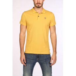 Övik Polo Shirt Donkergeel