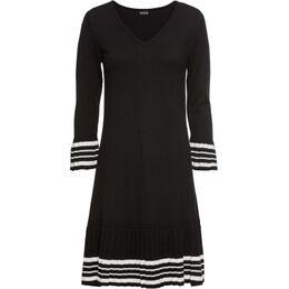 Gebreide jurk met geplisseerde rok