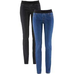 Jeanslegging (set van 2)