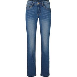 Stretch jeans, wide
