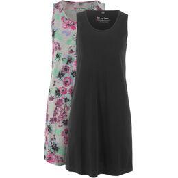 Jersey jurk (set van 2)