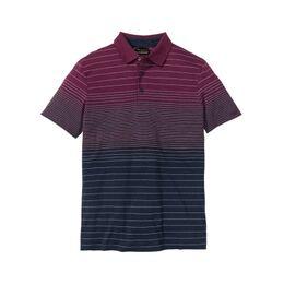 Poloshirt met kleurverloop