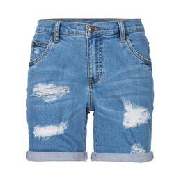 Jeans short destroyed