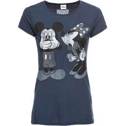 Shirt met Mickey Mouse print