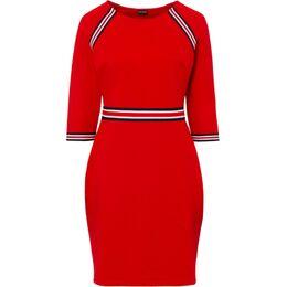 Jersey jurk met riem