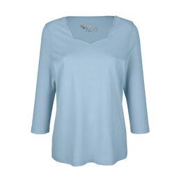 Shirt Lichtblauw