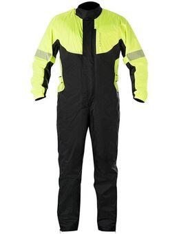 Hurricane Suit, Motorregenpak 1-delig, Fluo Geel-Zwart