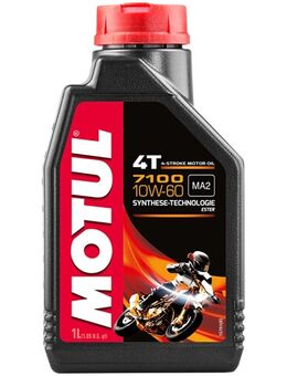 10W-60 synthetisch 7100, Motorolie 4T, 1 liter