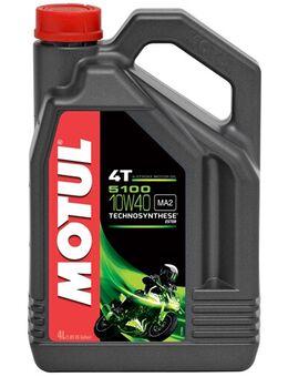 10W-40 semi-synthetisch 5100, Motorolie 4T, 4 liter