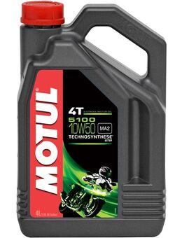 10W-50 semi-synthetisch 5100, Motorolie 4T, 4 liter