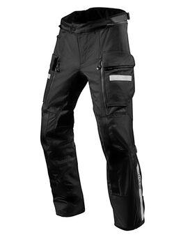Sand 4 H2O Pants, Textiel motorbroek heren, Zwart kort