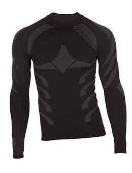 Tech Dry shirt, Thermoshirt voor op de moto, Zwart