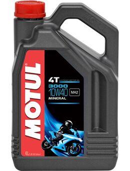 10W-40 mineraal 3000, Motorolie 4T, 4 liter
