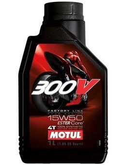 15W-50 300V Factory line road racing synthetisch, Motorolie 4T, 1 liter