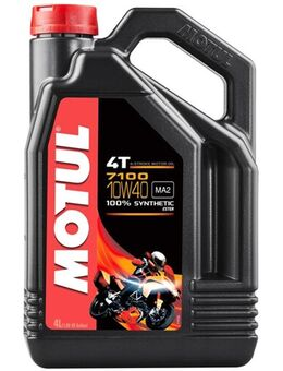 10W-40 synthetisch 7100, Motorolie 4T, 4 liter