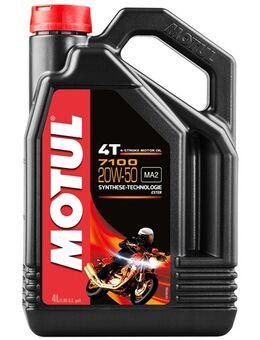 20W-50 synthetisch 7100, Motorolie 4T, 4 liter