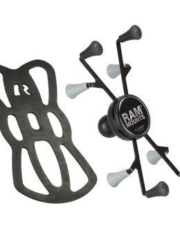 X-Grip® voor 7-8 tablets, Smartphone en auto GPS houders, RAM-HOL-UN8BU