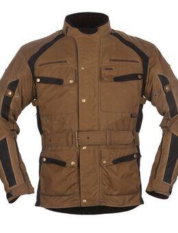 Glasgow Jacket, Textiel motorjas heren, Zand