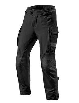 Offtrack Pants, Textiel motorbroek heren, Zwart kort