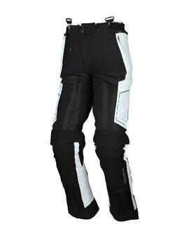 Khao Air pants, Doorwaai motorbroek heren, Zwart-Licht Grijs