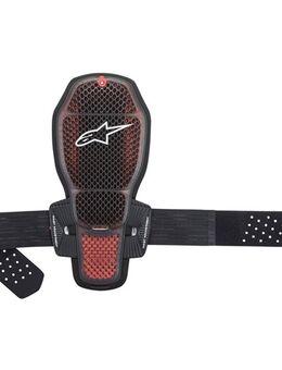 Rugprotector Nucleon KR-R CELL, Losse protectoren voor in motorfietskledij, Transparant-Smoke-Rood-Zwart