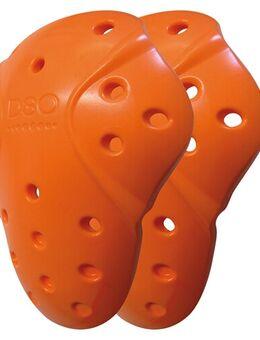 Schouderprotectorset T5 EVO XT, Losse protectoren voor in motorfietskledij, Oranje