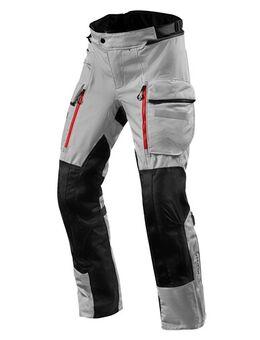 Sand 4 H2O Pants, Textiel motorbroek heren, Zilver Zwart lang