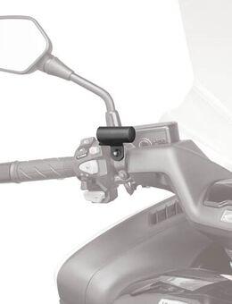 Bevestigingskit GPS/Iphone houder S951KIT2, Universele bevestigingen voor op de motorfiets