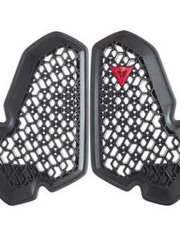 Pro-Armor Chest 2 Pcs, Losse protectoren voor in motorfietskledij, Zwart