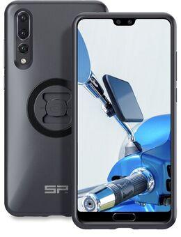 Moto Mirror Bundle LT Huawei P20 Pro, Smartphone en auto GPS houders, 2-in-1