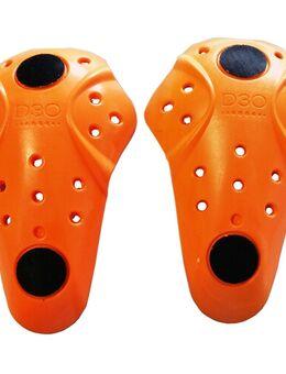 Knieprotectorset velcro T5 EVO XT, Losse protectoren voor in motorfietskledij