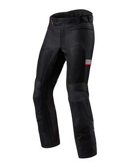 Tornado 3 Pants, Doorwaai motorbroek heren, Zwart