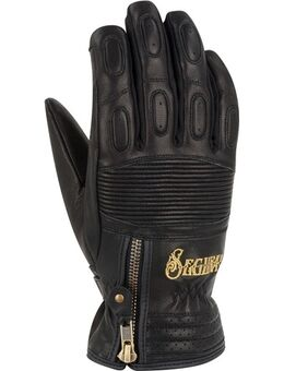 Lady Sultana Black Edition, Motorhandschoenen winter, Zwart