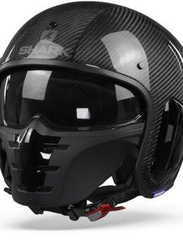 S-Drak 2 Carbon Skin DKS Carbon Zilver Zwart XL