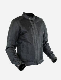 Stoner Men Tissu Mesh Black Jacket L
