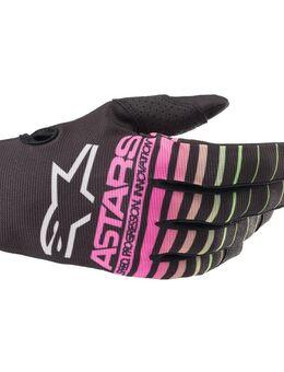 Radar Gloves Black Green Neon Pink Fluo XL