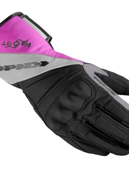 Tx-T Lady Black Fuchsia Motorcyle Gloves XL