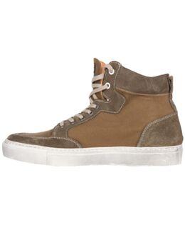 Kobe Canvas Armalith Leather Khaki Khaki Shoes 40