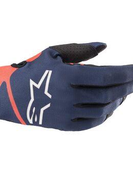 Radar Gloves Dark Blue Red Fluo M