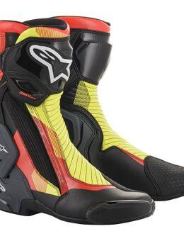 SMX Plus V2 Zwart Rood Fluo Geel Fluo Grijs 48
