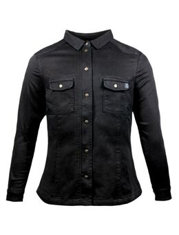 Motoshirt Lady Zwart XTM Motorshirt XS